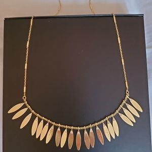 Anthropologie gold necklace